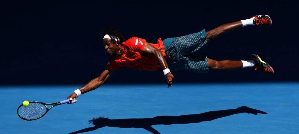 Faza zilei la Australian Open! Plonjon spectaculos al lui Superman din tenis! VIDEO