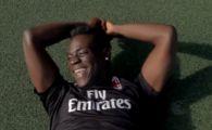 VIDEO FABULOS! Balotelli, facut KO de un expert in freestyle cu mingea! L-a provocat sa-i dea mingea printre picioare. Ce a patit