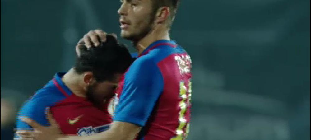 Momente incredibile la golul lui Stanciu cu Ujpest! S-a luat la cearta cu Hamroun pe teren! Colegii au incercat sa-l linisteasca