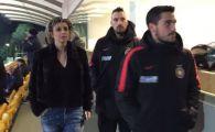 FOTO | Ultima achizitie a Stelei a privit din tribuna meciul cu Sturm Graz. Timo Gebhart urmeaza sa intre in programul de pregatire al echipei