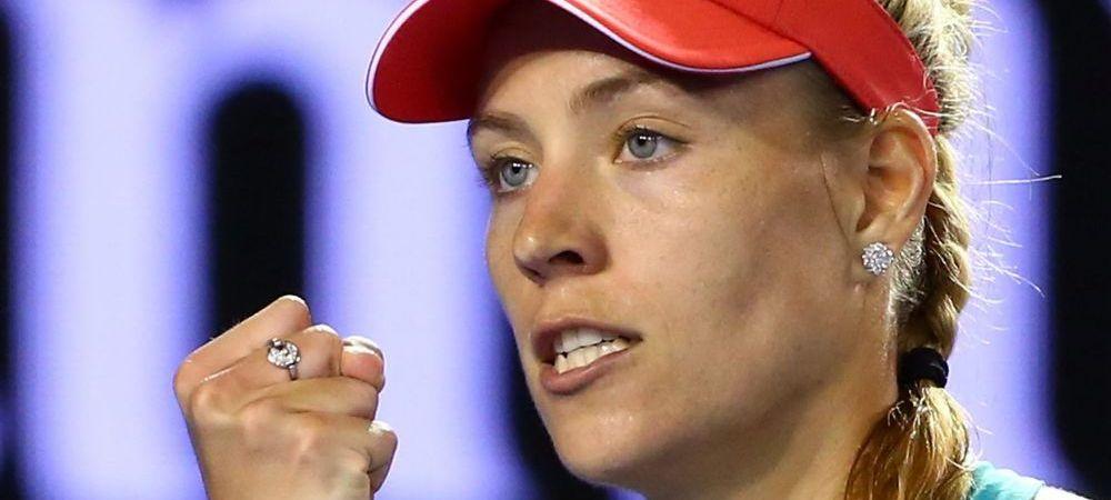 SENZATIONAL! Angelique Kerber a castigat Australian Open in fata Serenei Williams! Nemtoaica trece peste Simona Halep in clasamentul WTA!