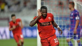 Dinamo, la prima victorie in cantonamentul din Cipru: Essombe a revenit cu gol in echipa, Rednic isi contureaza primul 11
