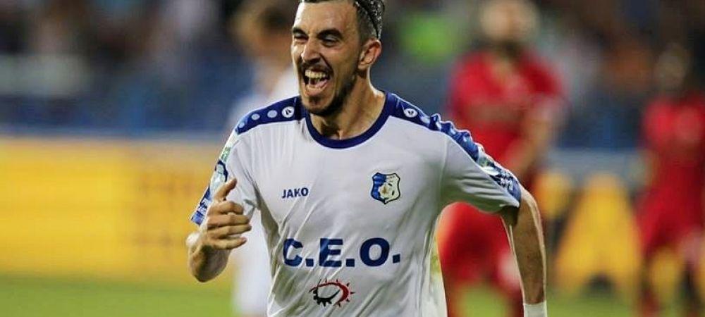 """""""Suntem multi atacanti, concurenta este mare pentru Euro"""" Ce spune Hora dupa ce a dat singurul gol al meciului cu Zimbru"""