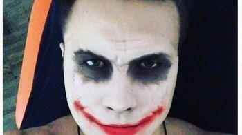 Why so serious? O vedeta din Bundesliga s-a costumat in celebrul Joker din Dark Night! FOTO