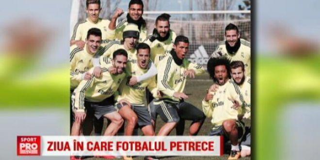 TOATA Europa a sarbatorit ziua lui Hagi! Ce au facut Ronaldo si Neymar de ziua lor :)
