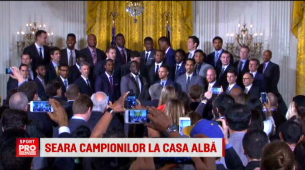 """Campioana NBA, invitata de Obama la Casa Alba! Golden State il vrea in lot: """"O sa ramai liber de contract la finalul anului"""""""