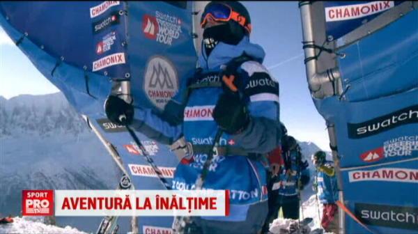 Cel mai periculos concurs de ski si placa: sportivii au coborat de la 4800 de metri! Imagini impresionante VIDEO