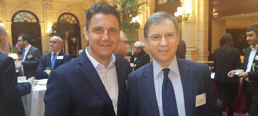 """""""Pacea de la Paris"""". Raducan si Argaseala au fost impreuna la European Club Association. Poate aparea o noua competitie europeana"""