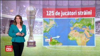 """Analiza strainilor din Liga I: echipele cu cei mai """"exotici"""" fotbalisti si care este a doua nationalitate din fotbalul romanesc"""