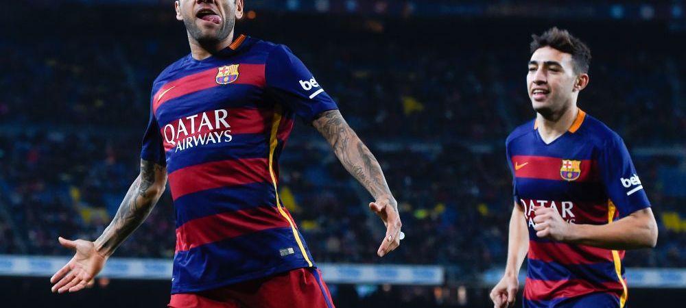 """S-a """"batut"""" cu Ronaldo, Bale sau Robben, dar un adversar cu totul neasteptat e cel care i-a dat cele mai mari batai de cap. Raspunsul curios al lui Dani Alves"""