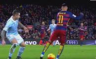 Driblingul MAGIC reusit de Neymar cu Celta Vigo! Tot stadionul l-a aplaudat pentru aceasta faza. VIDEO