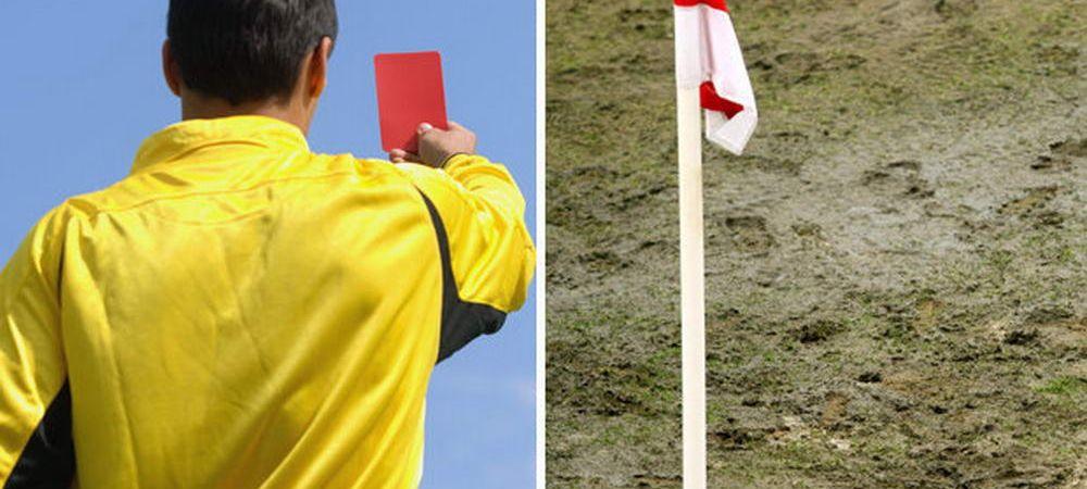 Arbitru impuscat pe teren pentru ca a aratat cartonas rosu! Scene incredibile in fotbalul din Argentina!