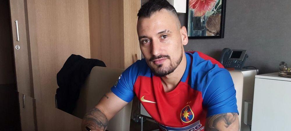 """""""DE SENZATIE!"""" Mesajul lui Timo Gebhart dupa debutul oficial la Steaua! Ce a postat pe Facebook"""