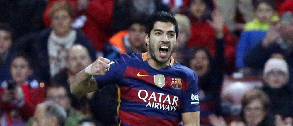 Suarez l-a egalat pe Higuain in topul cursei pentru Gheata de Aur! Pe ce loc sunt Cristiano Ronaldo si Lewandowski