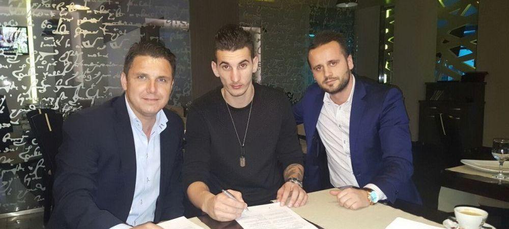 Oficial. Pandurii, la a cincea achizitie pentru Play Off: bosniacul Bunoza, fost la Dinamo, se va lupta cu echipa lui Rednic pentru titlu
