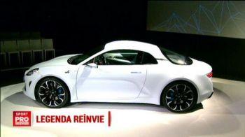 Renault a readus la viata o masina de 55 de ani si a transformat-o intr-un bolid luxos. Cum arata noul Alpine Vision