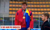Romania a castigat primul titlu olimpic din istorie la sporturile de iarna: Eduard Casaneanu, aur la hochei!
