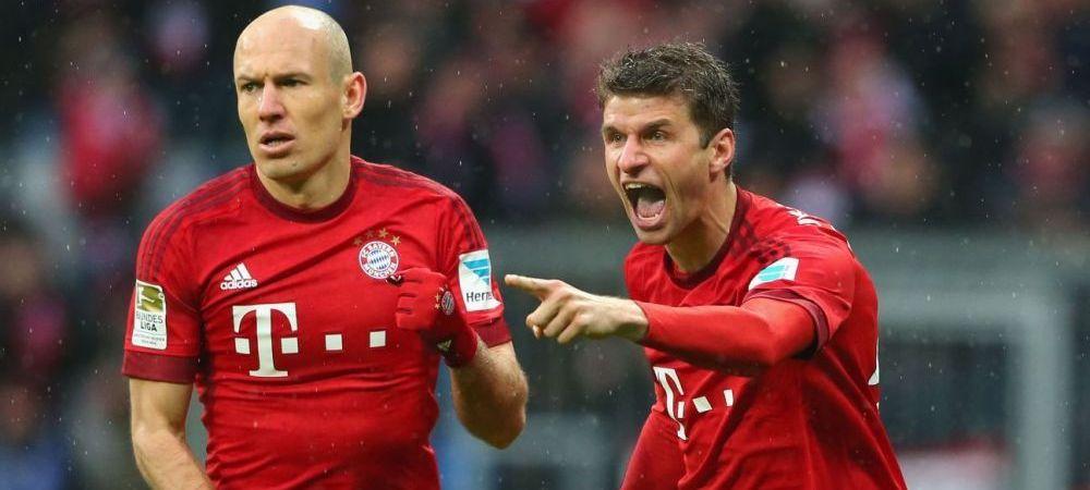 Gol FABULOS marcat de Thomas Muller pentru Bayern! Foarfeca SUPERBA venita de nicaieri