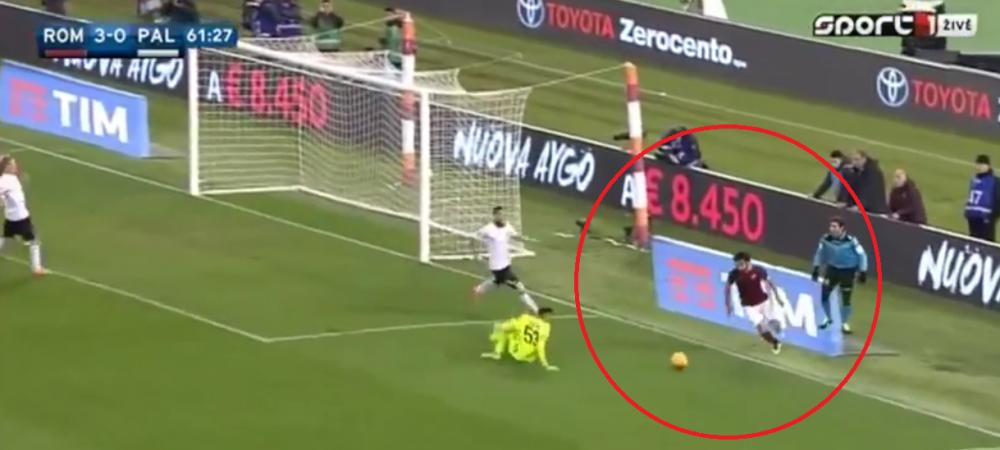 Salah a dat un gol FARAONIC! Micul egiptean a reusit o executie fantastica de pe linia terenului! VIDEO