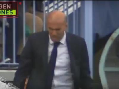 Imaginile care nu s-au vazut la TV! Reactia de furie a lui Zidane la penalty-ul ratat de Cristiano Ronaldo VIDEO