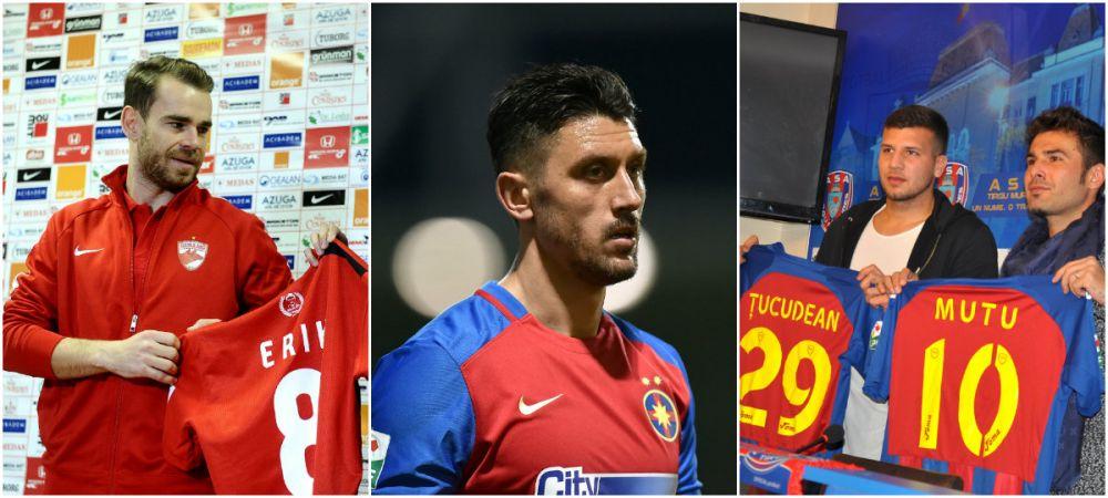 Lista completa a mutarilor facute in perioada de mercato in Liga I: Petrolul, Voluntari si Steaua au luat cei mai multi jucatori, CSU Craiova e singura care nu a putut face achizitii