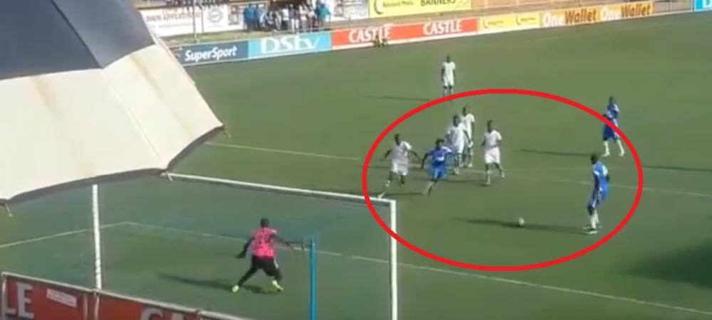 Nu e banc! Doi fotbalisti din Zimbabwe au incercat sa bata penalty ca Messi si Luis Suarez! Cum s-a terminat totul :)