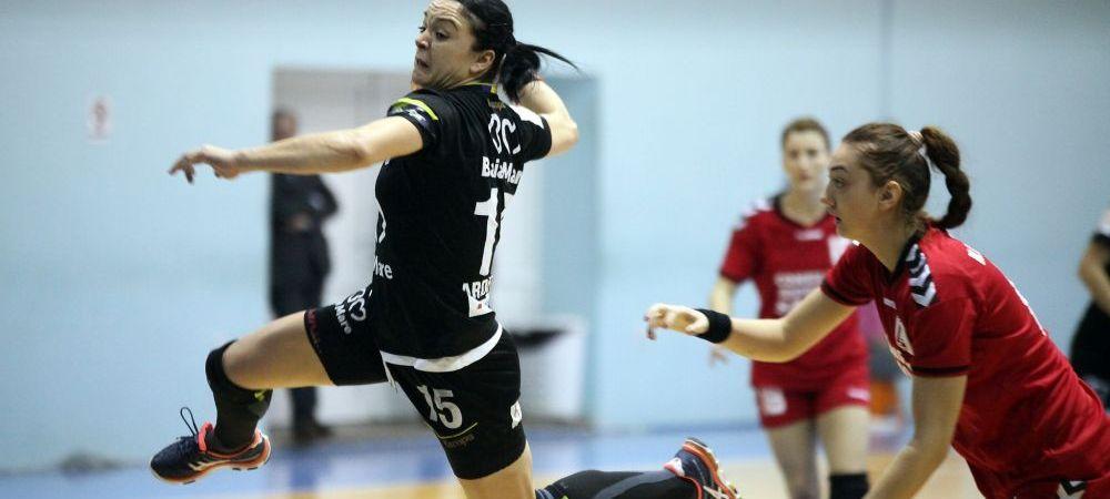 Sferturi EHFantastice pentru echipele romanesti: Baia Mare a terminat grupa pe 4 si poate juca impotriva detinatoarei Ligii, Buducnost! CSM se va bate cu Rostov