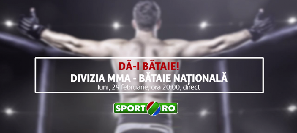 Divizia MMA: Bataie Nationala! Submission spectaculos al lui Bonati in main event | VIDEO