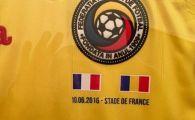 FOTO OFICIAL | Asa va arata echipamentul Romaniei la Euro 2016! Cum arata tricoul pregatit special pentru meciul cu Franta