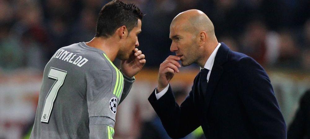 Zidane a vorbit pentru prima data despre conflictul din vestiar, iscat de Ronaldo. Ce s-a intamplat dupa meciul cu Atletico si in ce relatii sunt acum jucatorii