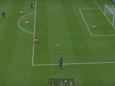 Probabil cel mai frumos gol reusit la FIFA 16! Nimeni nu s-ar fi gandit sa trimita ASA