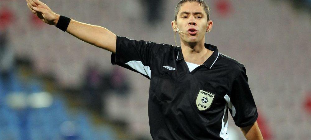 """Un arbitru acuzat ca """"e stelist"""", delegat la derbyul de joi! Radu Petrescu are la activ doua meciuri cu scandal din care dinamovistii au iesit """"pe minus"""""""