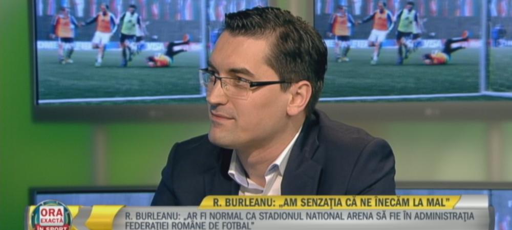 EXCLUSIV | Burleanu clarifica situatia meciului Romania - Spania si vorbeste despre viitorul nationalei! Presedintele FRF a vorbit si despre Sumudica, Mutu si Steaua