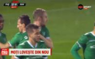 VIDEO GOOOL Moti! Fundasul lui Ludogorets a lovit din nou, dupa reusita cu Steaua! A plouat cu piatra in Bulgaria!