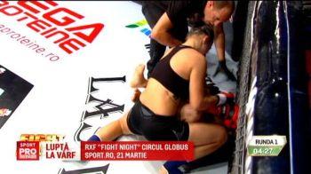 O romanca va lupta la masa bogatilor in cusca! Pentru Cristina Stanciu, lupta cu Ronda Rousey nu mai e doar un vis