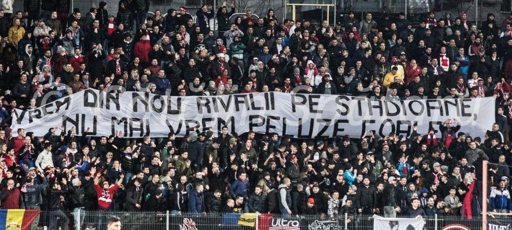 Ambele peluze ale Stelei au meci cu Dinamo! Ce decizie a luat Sud-ul dupa ce galeria lui Dinamo si-a chemat rivalii de moarte la stadion