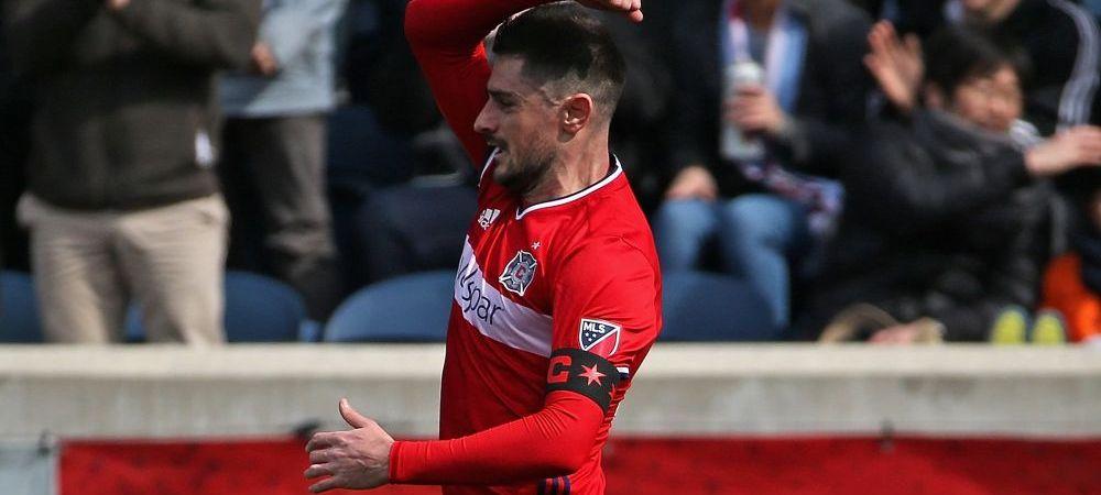 L-ai uitat deja? Fostul international Razvan Cocis a ajuns capitan in MLS si a marcat in prima etapa impotriva echipei lui Pirlo si Villa