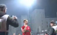 Bicfalvi a REFUZAT sa injure Steaua! Ce gest le-a aratat suporterilor cand a fost chemat sa scandeze impotriva fostei echipe