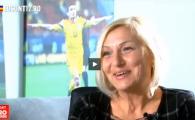 """""""Mamica ta si mamica ta... ma intorc si ma uit urat la ei!"""" :)) Mama lui Keseru povesteste cum a reactionat cand a auzit ca fiul ei e injurat pe stadion"""