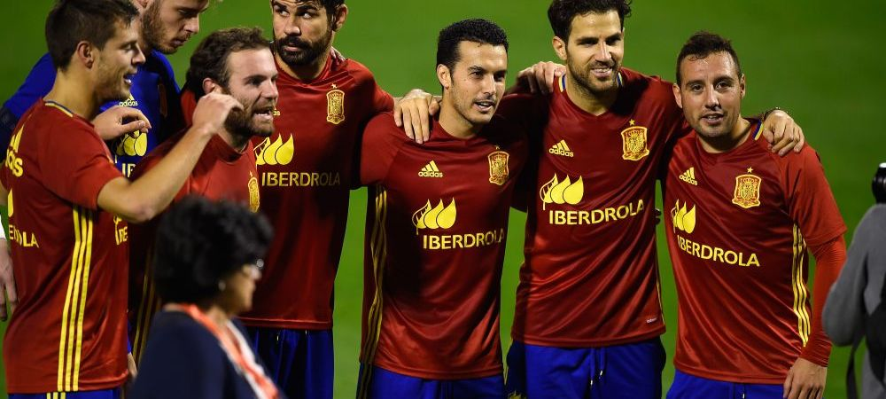 Spania joaca un amical cu 3 zile inainte de EURO: Pedro, Diego Costa si Fabregas vor juca in total de 4 ori pana la turneul final. Unul dintre meciuri, pe 27 martie, cu Romania