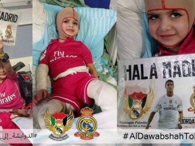 Gest MINUNAT al lui Real Madrid pentru un pusti palestinian care si-a pierdut intreaga familie! Anuntul oficial