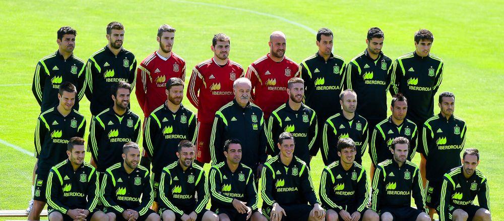 Spania vine fara Iniesta si Diego Costa, dar cu Iker Casillas, Ramos, Pique si Morata! Lotul anuntat de Vicente del Bosque