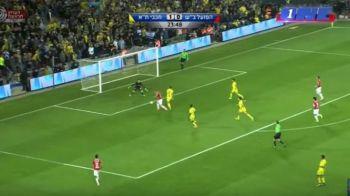Hoban vine in forma la nationala: romanul e lider in Israel si a inscris in derby-ul campionatului, cu Maccabi Tel Aviv | VIDEO