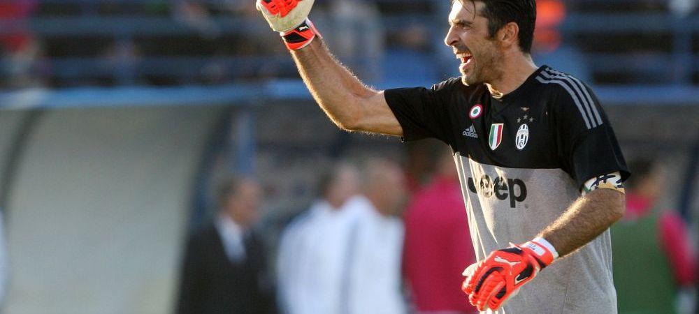 Asta e cea mai tare PARADA din cariera lui Buffon? Reflexul INCREDIBIL cu care a aparut in fotbal! VIDEO