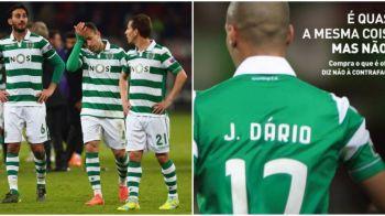 Protestul inedit al unui club mare al Europei: toti titularii lui Sporting au avut numele scrise GRESIT pe tricouri. Care a fost motivul