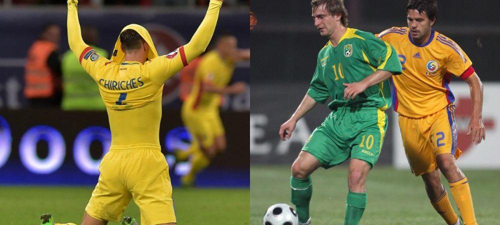 Cum arata primul 11 dupa numerele luate de jucatori! Ultima data cand au venit in Romania, lituanienii ne-au umilit. Cum arata echipa atunci