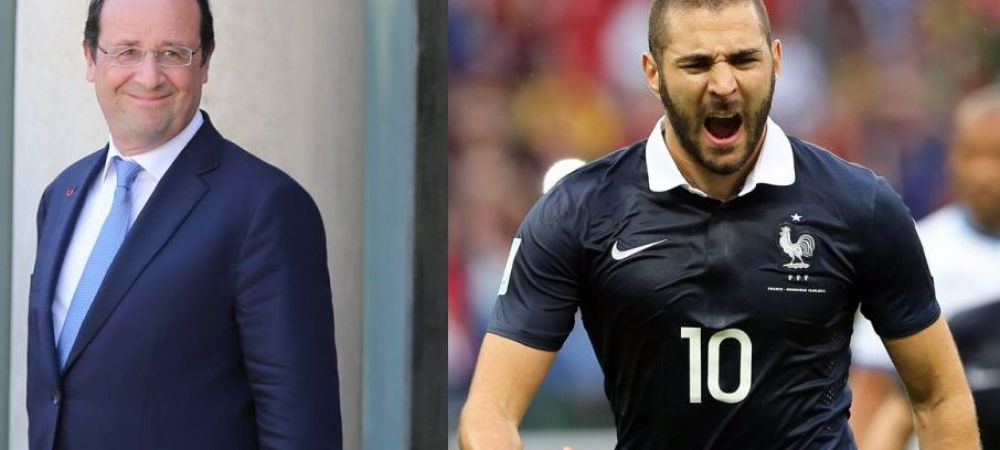 "BenzeMIZA EURO! Presedintele Hollande il vrea pe Benzema in teren cu Romania: ""Terminati cu prostiile voastre"""