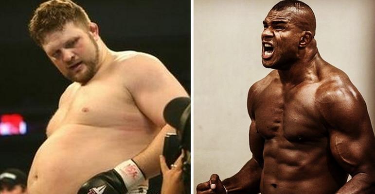 """Ai fi tentat sa crezi ca acest """"grasut"""" e victima sigura! Ce se intampla insa atunci cand intra in cusca de MMA"""