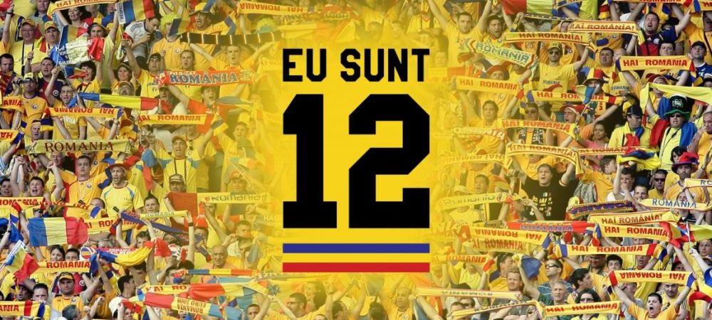 "Loredana, Ruby, Gheorghe Zamfir, Gabi Balint si alti super-artisti canta imnul oficial al suporterilor din Romania, ""Eu sunt 12""!"