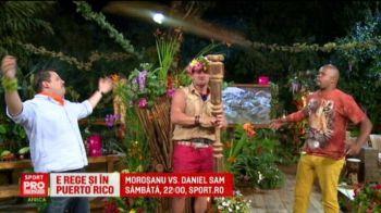 """Morosanu e din nou Regele Junglei! Inaintea meciului cu """"Distrugatorul"""" Sam, Morosanu sta in vila unui milionar din Purto Rico"""